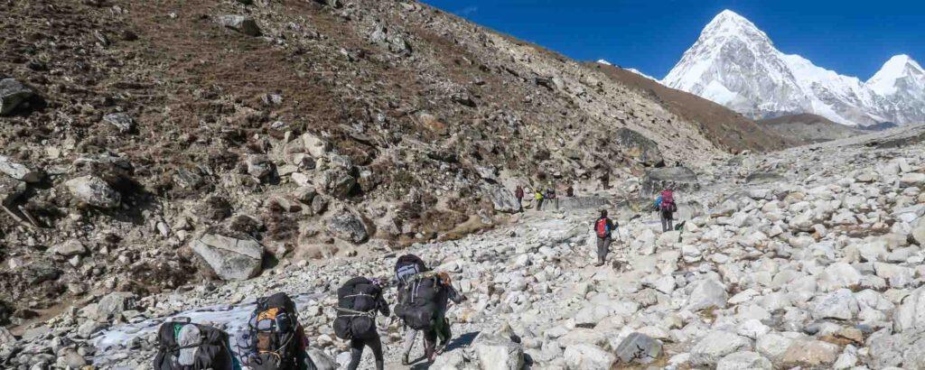 Mount Everest - Everest-basiskamp