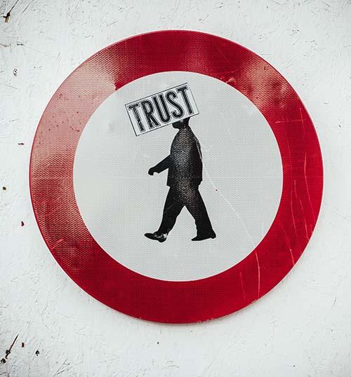Beveiligingsmodel met vertrouwen