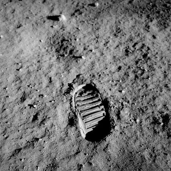 Apollo 11 voetafdruk