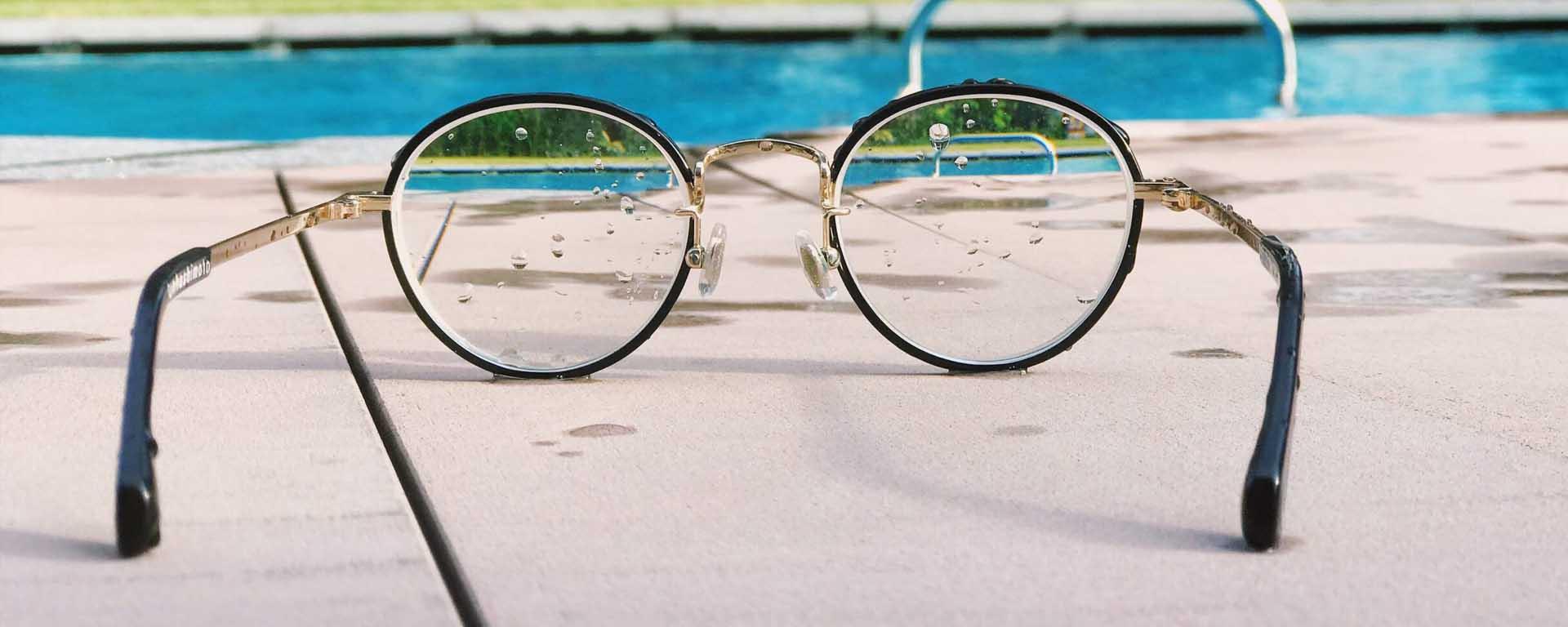 Zwembad met Bril