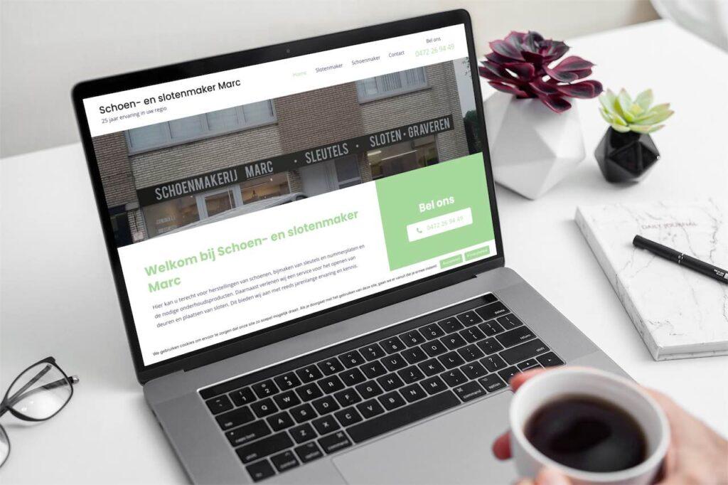 Web Design - Schoenmaker Marc Keerbergen